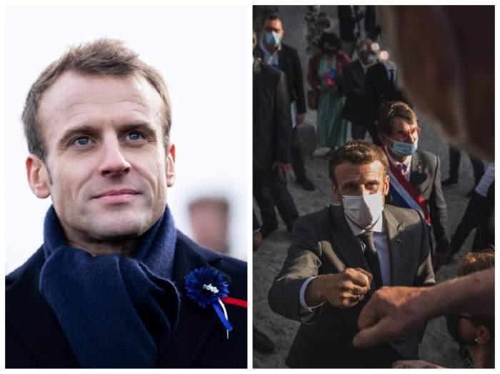 Colaj cu Emmanuel Macron, președintele Franței
