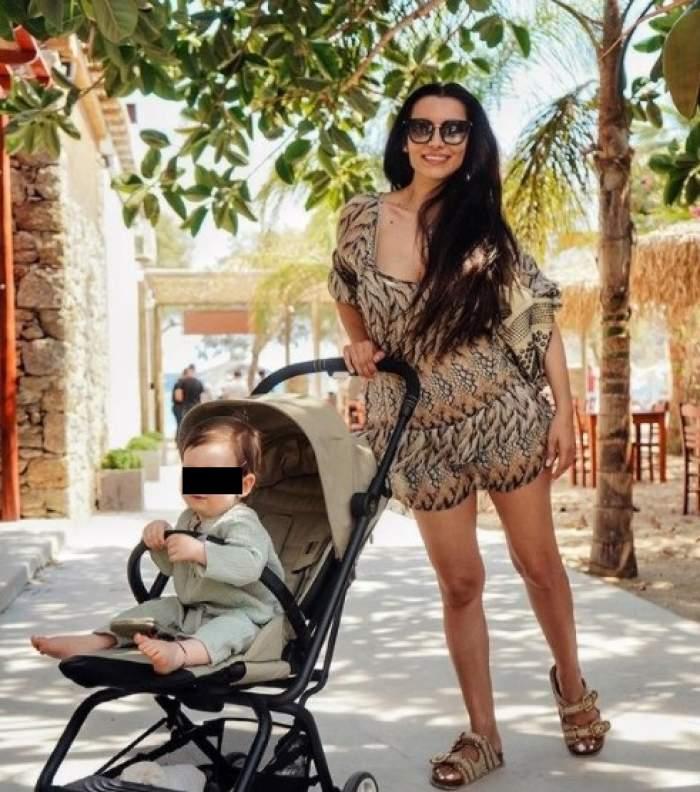 """Lili Sandu, panică la întoacerea din vacanță. Ce s-a întâmplat cu băiețelul vedetei: """"Am fost la urgență"""" / VIDEO"""