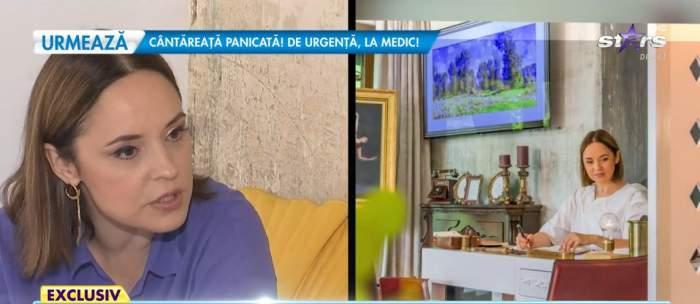 Andreea Marin, interviu din casa ei la Antena Stars