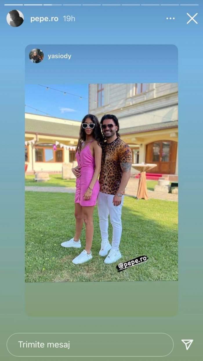 Pepe și Yasmine Ody, în tandrețuri, în văzul tuturor! Cei doi nu se mai ascund și s-au pozat în ipostaze de cuplu / FOTO