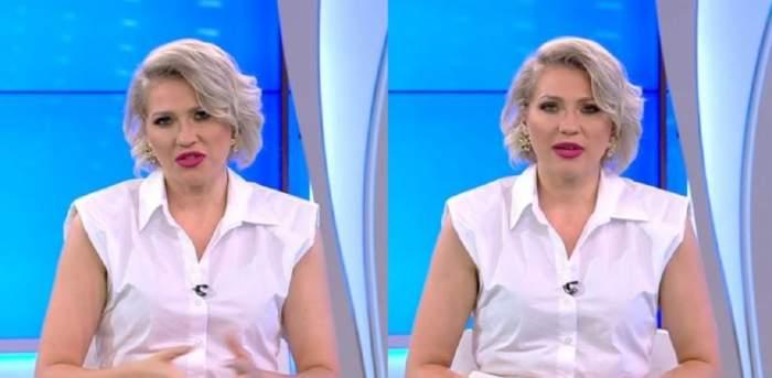 """Acces Direct. Mirela Vaida, amenințată de fratele lui Ioniță de la Clejani: """"Dacă aș avea posibilitatea să arunc o găleată de apă opărită pe toți din platou..."""" / VIDEO"""