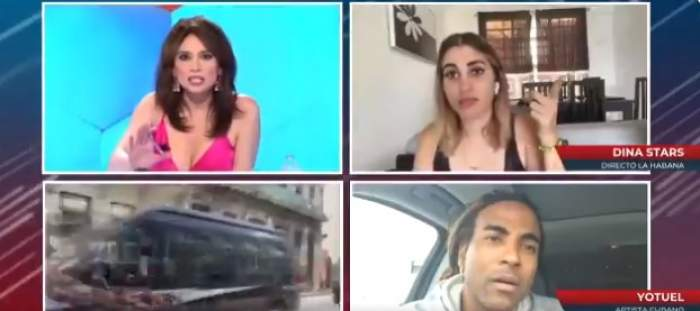 transmisiunea în direct cu youtuberița arestată