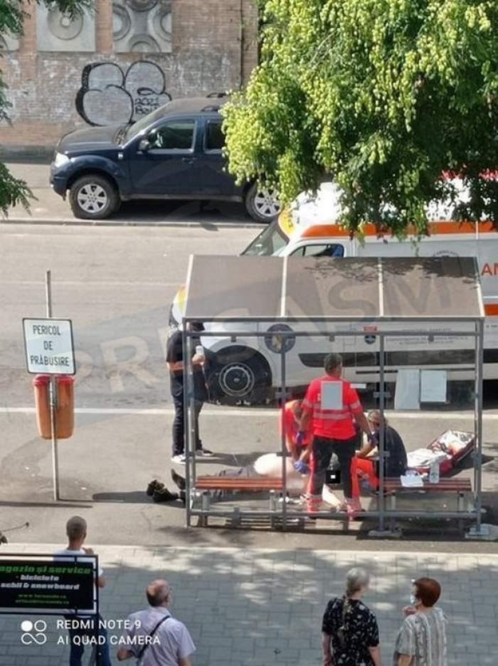 Un bărbat din Satu Mare a murit într-o staţie de autobuz din cauza căldurii. Valul de caniculă face din ce în ce mai multe victime în România / FOTO