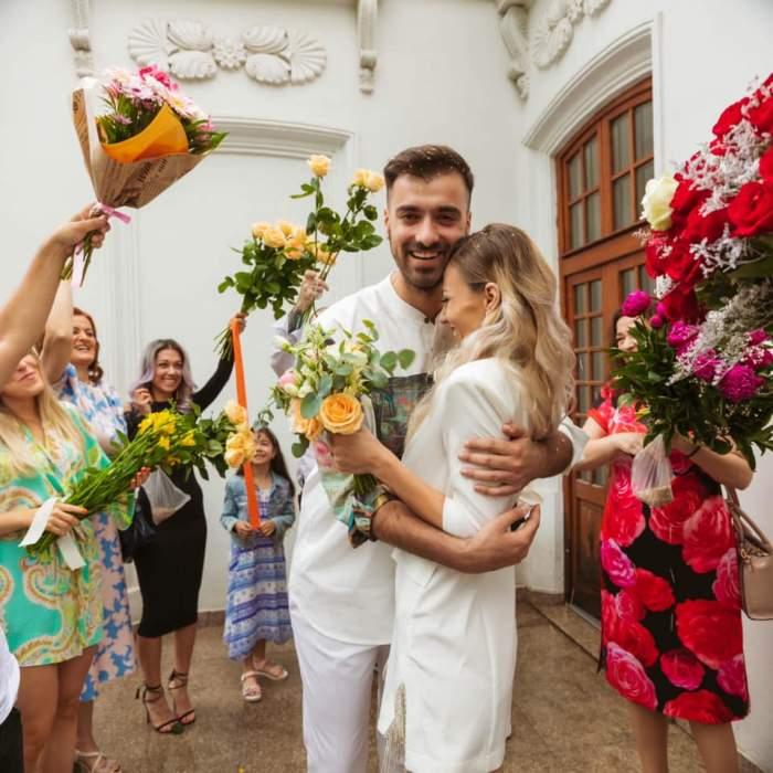 """Ce i s-a întâmplat soției lui Liviu Teodorescu când a probat rochia de mireasă. Iulia a fost transportată de urgență la spital: """"A tăiat-o"""""""