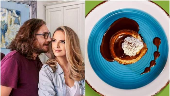 Rețeta Pomme du Sima a lui Chef Florin Dumitrescu. Celebrul bucătar a inventat un desert special pentru soția lui