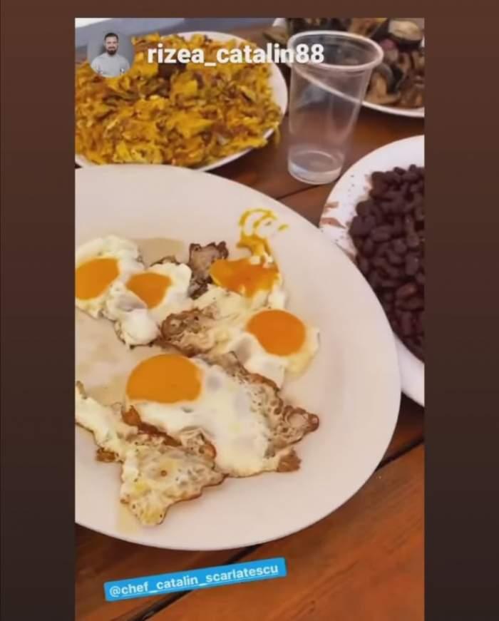 Mâncarea preparată de Cătălin Scărlătescu