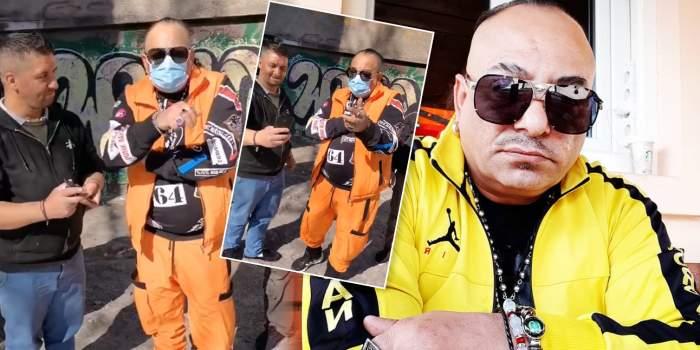 """VIDEO / """"Tăticul"""" manelelor deocheate, gest neașteptat pentru oamenii străzii / Romeo Fantastik, așa cum nu a mai fost văzut niciodată!"""