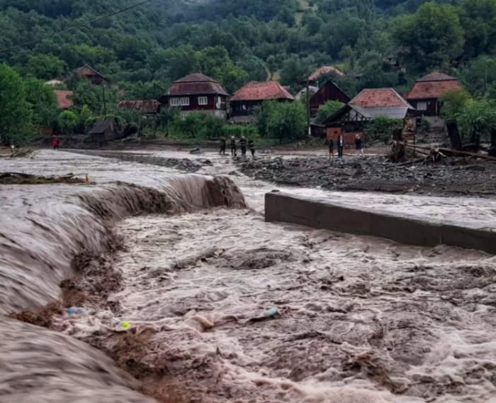 inundații în Alba