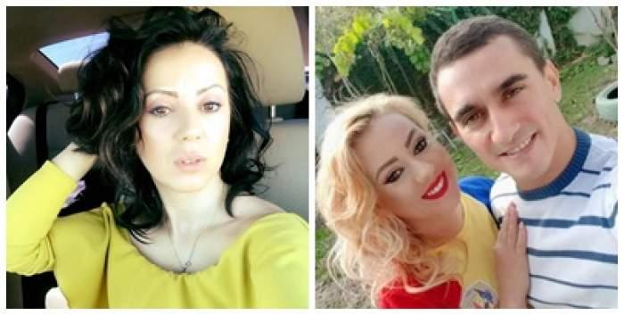 Colaj foto cu Larisa și Marian Drăgulescu