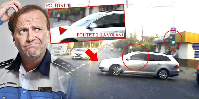 VIDEO / Om al legii, filmat într-o ipostază scandaloasă / Pericol public, la volan!
