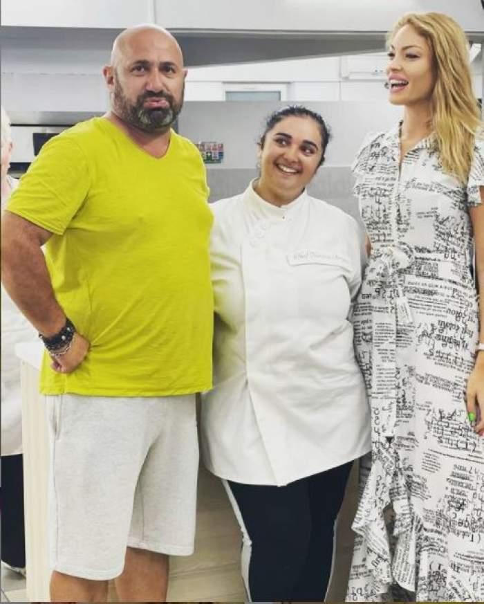 Vizita surpriză pe care a primit-o Narcisa Birjaru la locul de muncă. Marea câștigătoare Chefi la cuțite a rămas fără cuvinte / FOTO