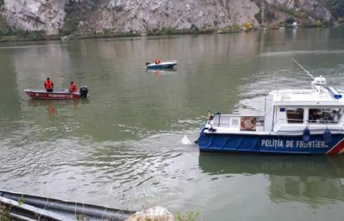 Un tânăr student la Școala de Marină a dispărut în apele Dunării după ce a plecat să invețe să înoate. Scafandrii și pompierii îl caută de ore bune