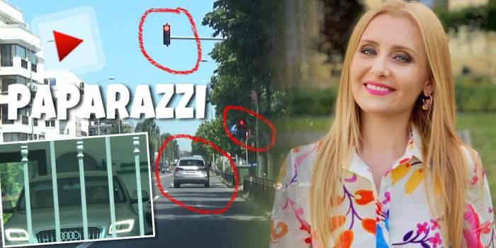 Când ești Alina Sorescu îți permiți orice, chiar și să treci pe culoarea roșie a semaforului. Cum a fost surprinsă vedeta în timp ce a încălcat legea / PAPARAZZI