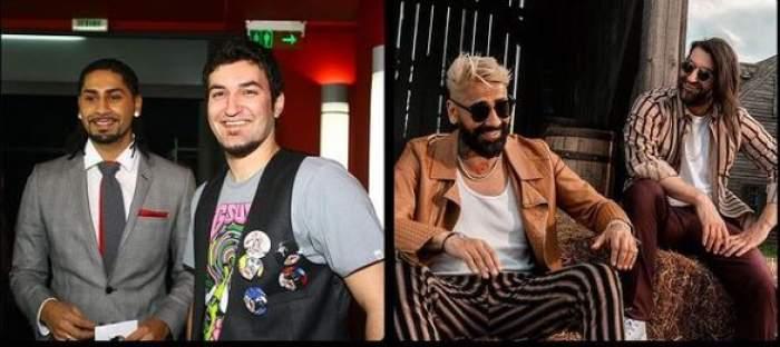 Cum arătau Smiley și Connect-R atunci când au debutat în muzică. Imaginea de milioane cu cei doi artiști la începutul carierei lor / FOTO