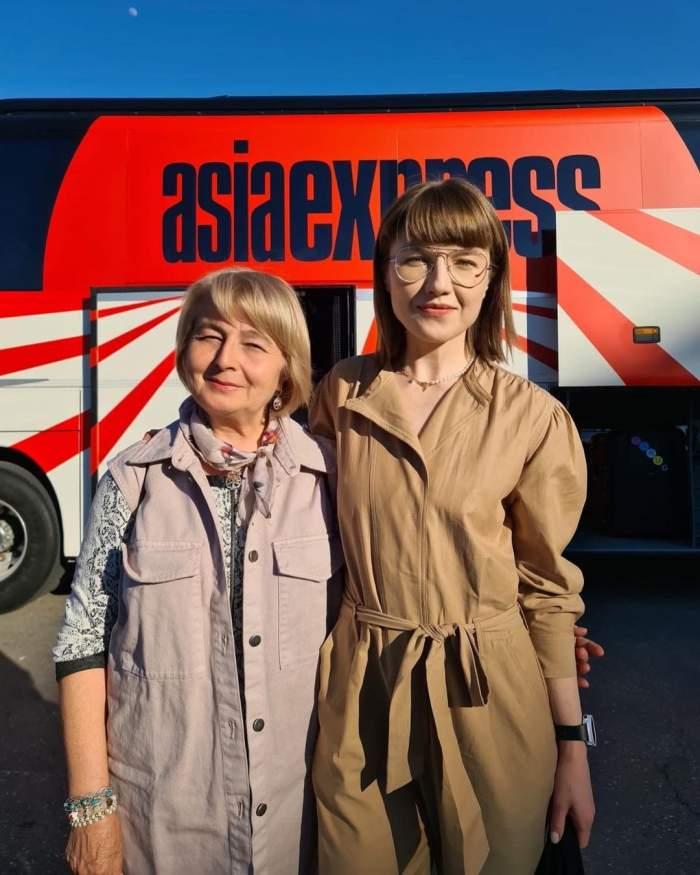 Filmările de la Asia Express - Drumul Împăraților s-au încheiat. Ce anunț a făcut Alexandra Ungureanu despre competiție