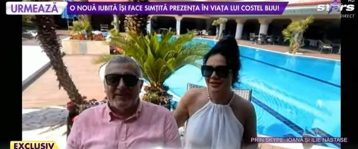 Ilie Năstase și Ioana Năstase, la mare de ziua lui de naștere