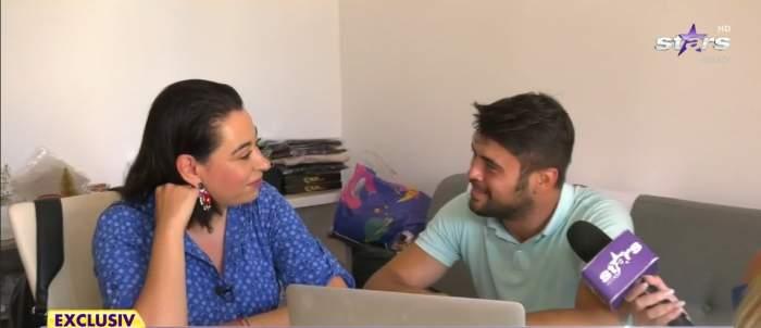Primul interviu cu Oana Roman și Marius Elisei, la Antena Stars