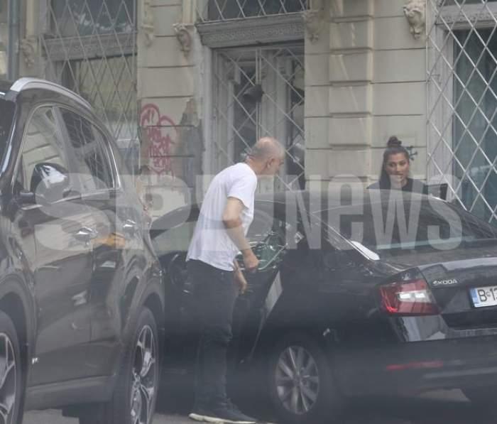 Damian Drăghici, discuții aprinse în mașină. Artistul își pierde răbdarea când are probleme cu soția / PAPARAZZI