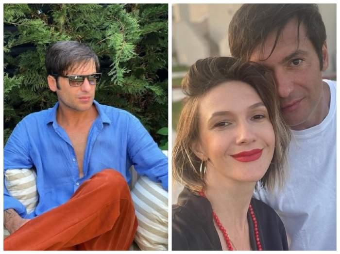Radu Vâlcan și Adela Popescu, colaj