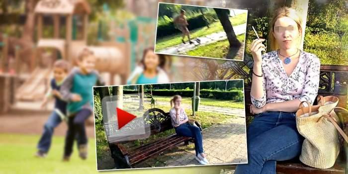 VIDEO / Copii amenințați că vor fi decapitați, la locul de joacă / Mărturia șocantă a femeii care i-a terorizat pe minori
