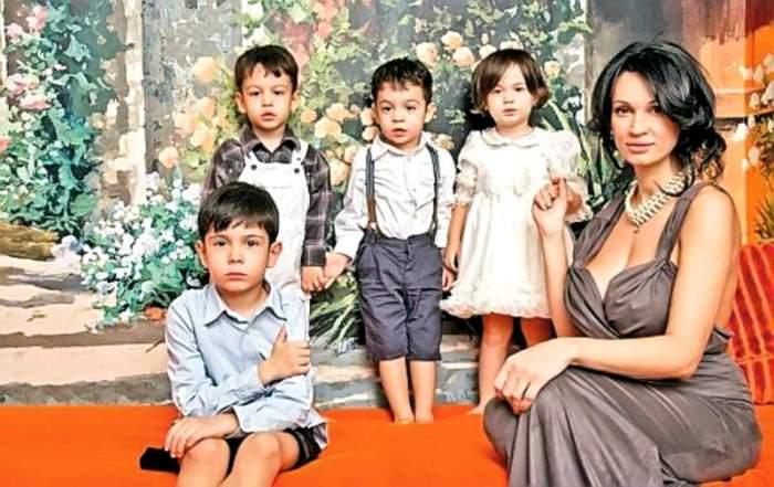 Cum arată acum cei patru copii ai Nicoletei Luciu. Cu ce se ocupă fiul cel mare al vedetei