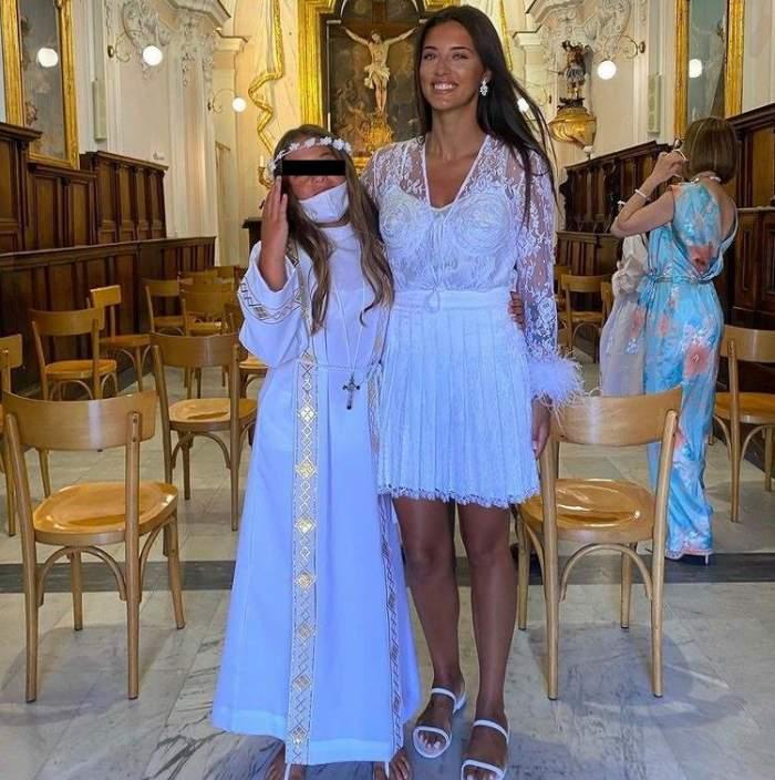 Ce reprezintă pentru catolici prima comuniune, eveniment la care Antonia a fost alături de fiica ei, Maya