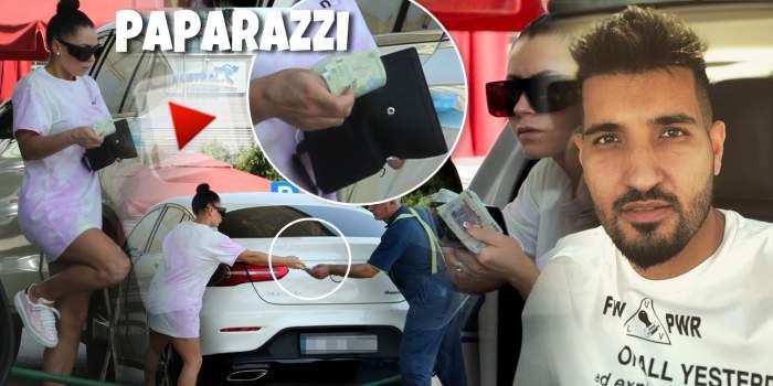 Soția lui Nadir nu se zgârcește, mai ales când e vorba de mașina ei de fițe. Cum a fost surprinsă frumoasa Georgiana, în plină zi / PAPARAZZI