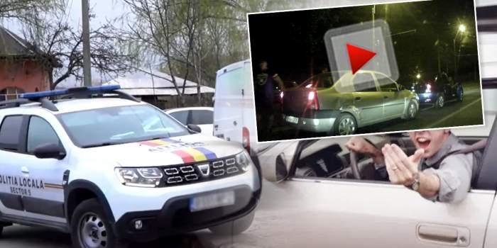 VIDEO / Poliția Locală și Jandarmeria, reacții incredibile, în cazul unui șofer atacat în trafic / Detalii exclusive