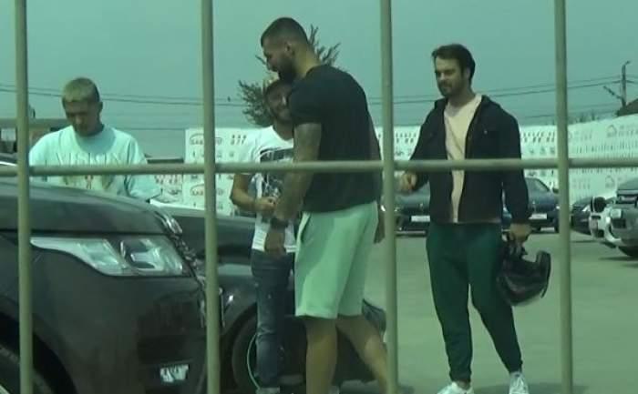 Lino Golden, Bogdan Stoica și George Pișterenau, întâlnire la o firmă de mașini