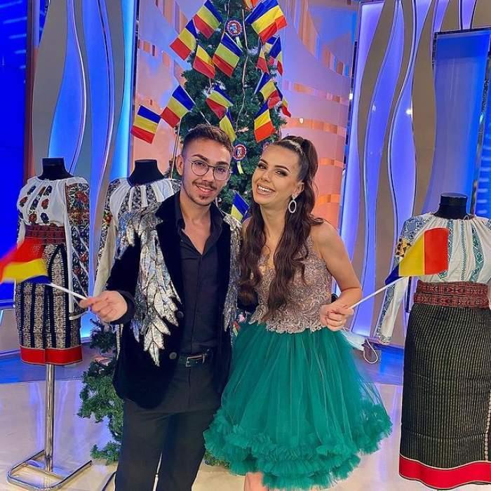 Georgiana Lobonț și Armin Nicoară, eleganți, la un eveniment