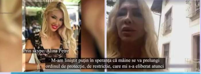 Răsturnare de situație în cazul agresorului Alinei Petre! Ce se va întâmpla cu bărbatul după episoadele traumatizante la care a supus-o pe vedetă / VIDEO