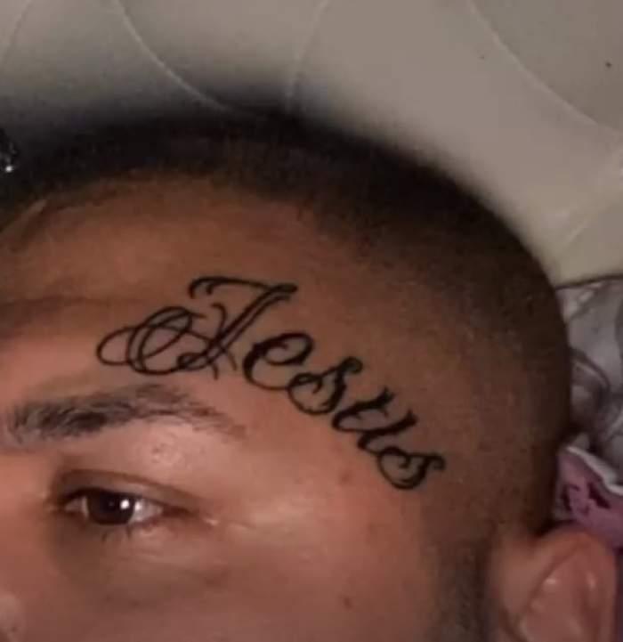 """Dani Mocanu și-a tatuat """"Iisus"""" pe frunte. Manelistul, dovada supremă de iubire pentru Dumnezeu, după ce se pocăise / FOTO"""