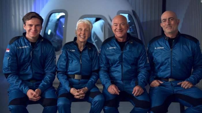Cine este Wally Funk, femeia de 82 de ani care a fost în spațiu alături de Jeff Bezos la bordul New Shepard