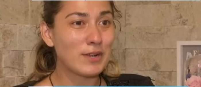 Natalia Beuran plânge