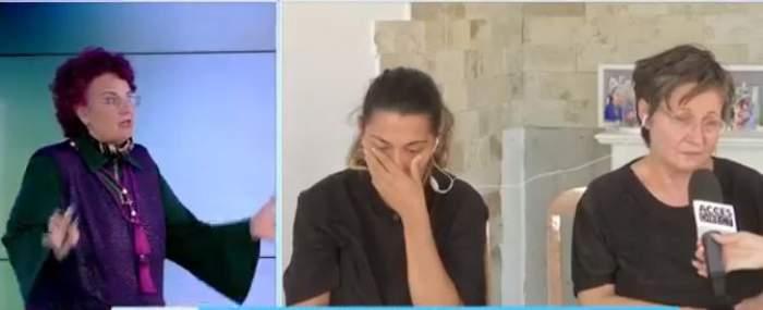 Florentina Daniela Ion, Natalia Beuran și soacra sa la Acces Direct