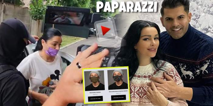 Primele imagini cu Brigitte și Florin Pastramă aduși la secție în dosarul măștilor contrafăcute / VIDEO