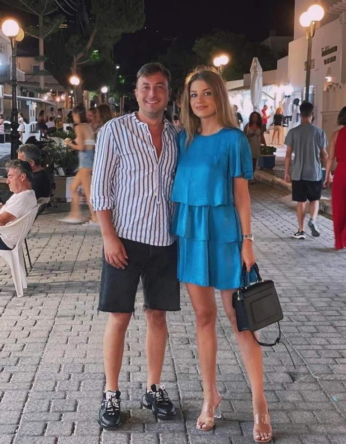 """Codruța și Valentin Sanfira, lună de miere în avans! Cei doi îndrăgostiți au plecat într-o vacanță de poveste: """"Nu ne facem griji..."""""""