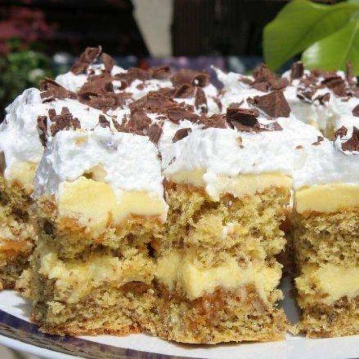 Cum prepari prăjitura Petre Roman. Ingredientele de care ai nevoie pentru cel mai delicios desert
