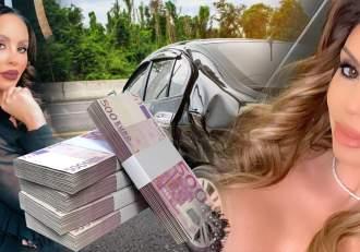 Flore Salalidis, la tribunal, pentru o pagubă de 1.700 de euro / Cine plătește pentru greșelile blondei!