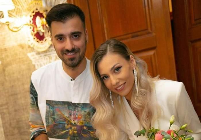 liviu teodorescu si sotia lui semneaza acte