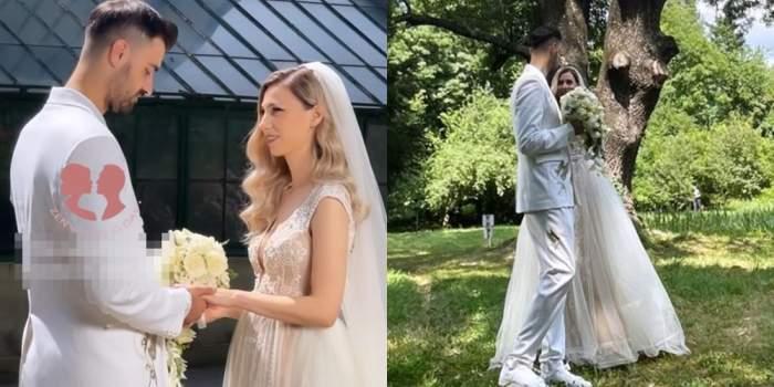 liviu teodorescu si sotia lui la nunta