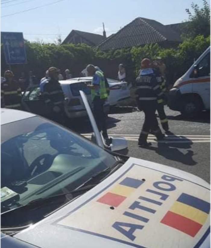 Accident cu şapte victime la 23 August, pe drumul dintre Constanţa şi Mangalia. Unul dintre șoferi consumase alcool / FOTO