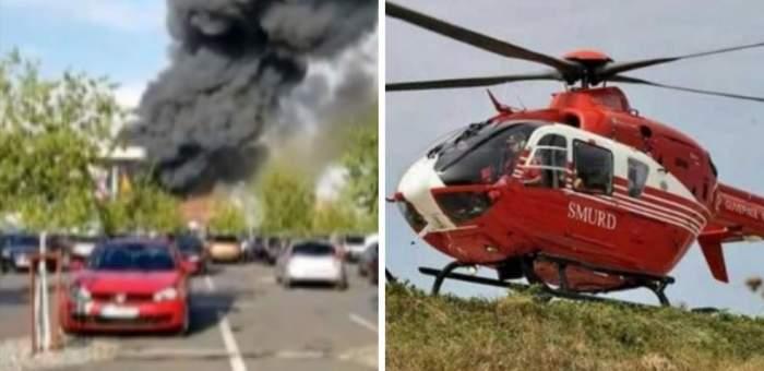 A fost înregistrat primul deces în urma incendiului din Popești-Leordeni, iar doi dintre pacienții arși au fost transferați în Germania