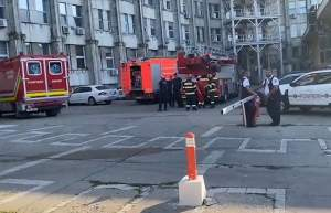 Incendiu puternic la secția Chirurgie Cardiovasculară de la Spitalul Județean de Urgență Constanța. Pompierii intervin de urgență