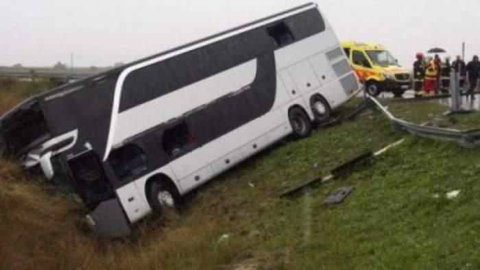 Tragedie în Croația, după ce un autocar s-a răsturnat pe o autostradă. Au fost înregistrate 10 decese și 45 de persoane rănite