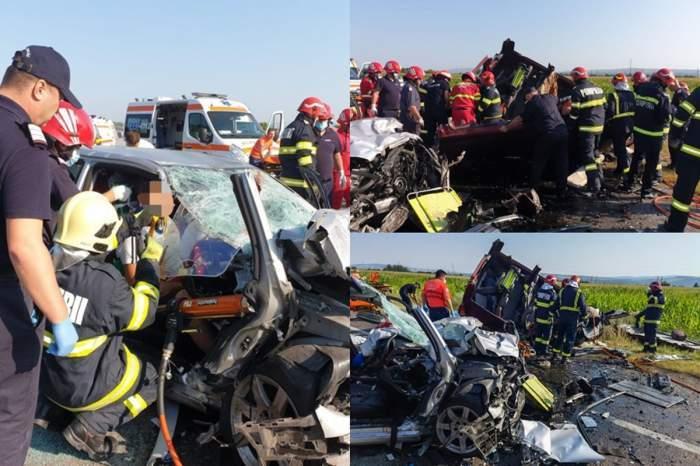 """Dezvăluiri cutremurătoare în urma accidentului de la Bacău din această dimineață. Cum a reacționat copilul care și-a pierdut mama, sora și bunica: """"Tata, zi-mi că este un vis"""""""