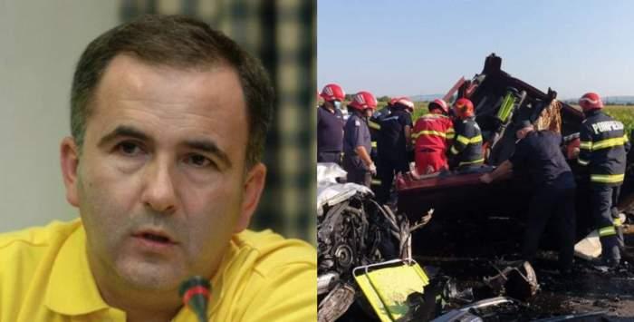 """Titi Aur, despre bilanțul sumbru de accidente rutiere din ultimele trei zile: """"Nu există sancțiune cu adevărat pentru acești tupeiști"""""""