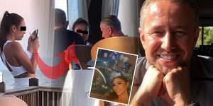 Laurenţiu Reghecampf, în vacanţă în Grecia cu domnişoara C şi cu prietenii. Imaginile care zguduie showbiz-ul. Cu cine se distrează antrenorul, când Anamaria Prodan este în Dubai. Exclusiv