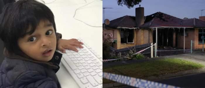 """Mesajul cutremurător al unui tată din Australia care nu și-a putut salva fiul din flăcări: """"Îmi lipseşte"""""""