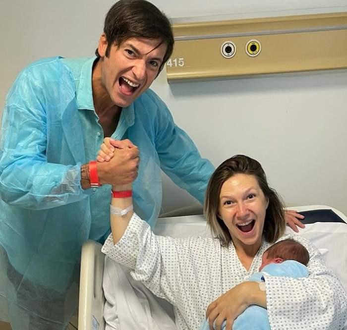 adela popescu si radu valcan la spital